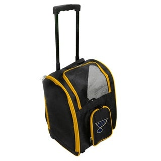 NHL C Pet Carrier Premium bag with wheels in Yellow
