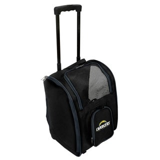 NFL Los angeles Chargers Pet Carrier Premium bag with wheels in Navy