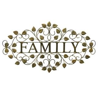 Three Hands Wall Decor - Family