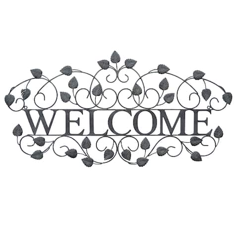 Three Hands Wall Decor - Welcome