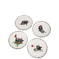 Benson & Bartholomew Ceramic Plates - Set of 4