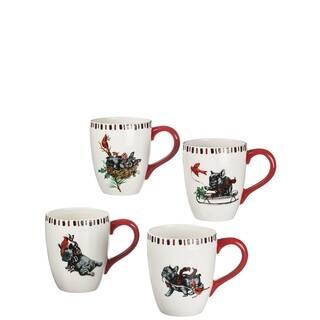 Benson & Bartholomew Ceramic Mugs-Set of 4 https://ak1.ostkcdn.com/images/products/18132675/P24284554.jpg?impolicy=medium