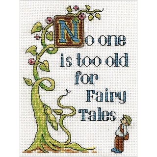 Shop Fairy Tales Counted Cross Stitch Kit Free Shipping