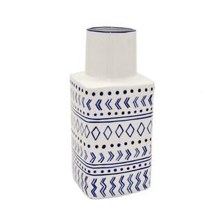 Three Hands Vase - Blue & White