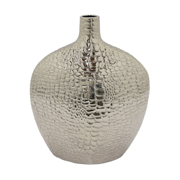 Three Hands Vase Silver Free Shipping Today Overstock