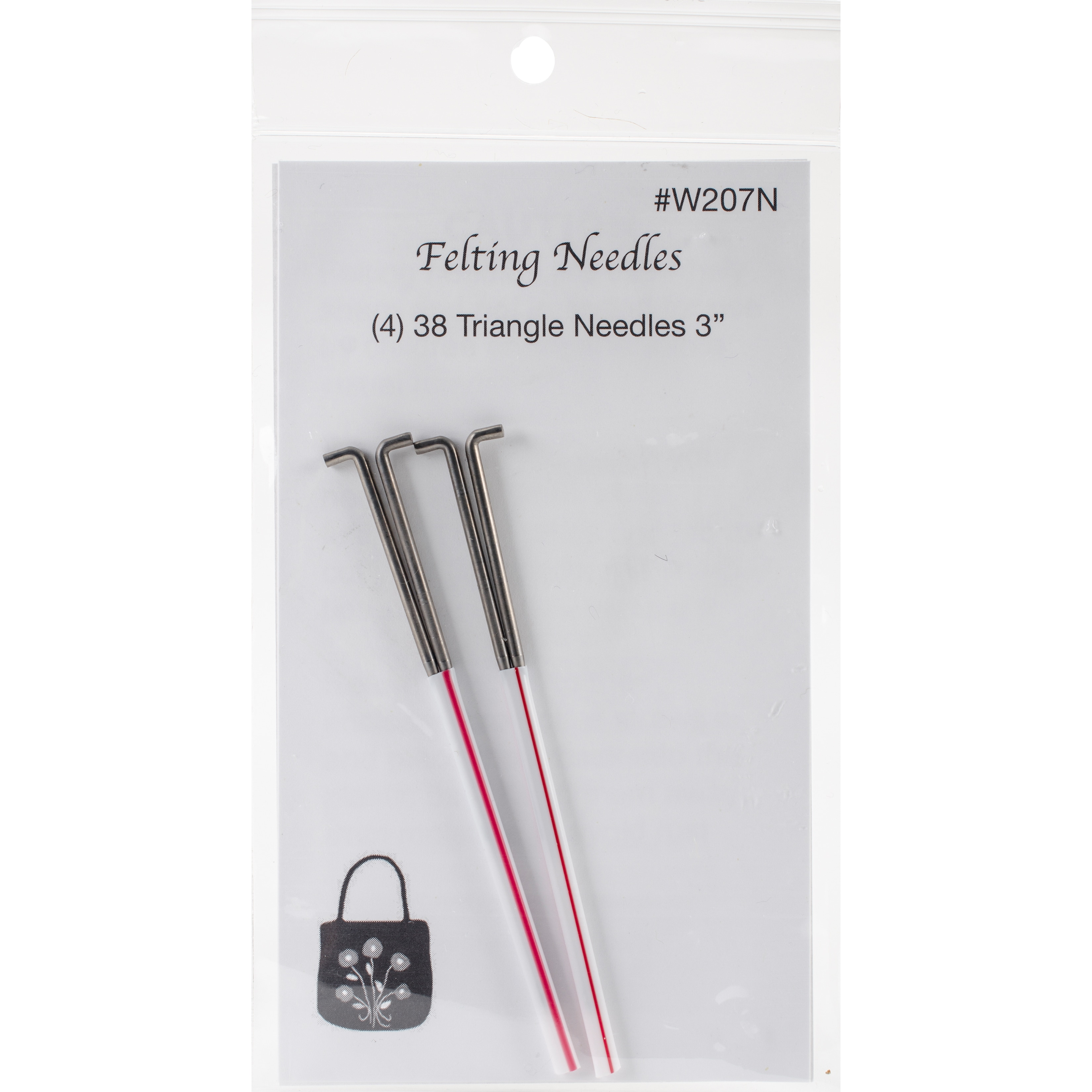 Wistyria Editions Felting Needles 4/Pkg (Size 38 Triangle)