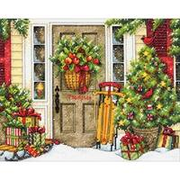 Home For The Holiday Counted Cross Stitch Kit