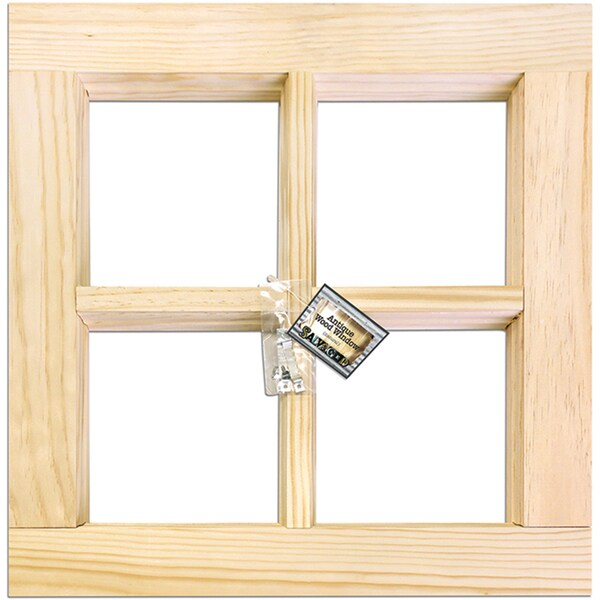 Shop 4 Pane Wood Window Frame Free Shipping On Orders Over 45