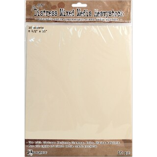 Tim Holtz Distress Mixed Media Heavystock Tags 10/Pkg