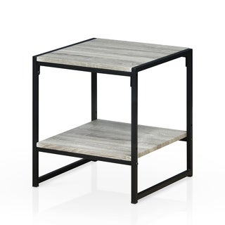 Furinno Modern 2-Tier End Table