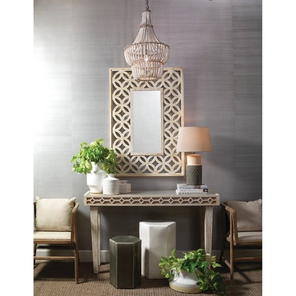 beaded tier living white on french country distressed spectacular deal fontaine kkh chandelier shop