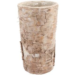 """Round Birch Container W/Liner 8.25""""X5"""""""