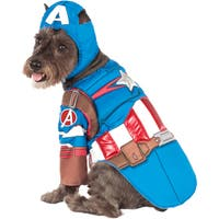 Rubie's Captain America Deluxe Pet Costume