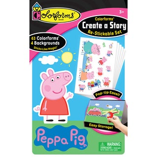 Colorforms(R) Create A Story Re-Stickable Sticker Set