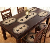"Star 13"" x 19"" S/4 Jute Placemats"