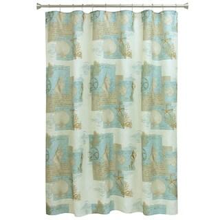 Coastal Moonlight shower curtain by Bacova