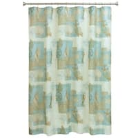 Coastal Moonlight shower curtain by Bacova