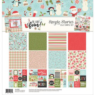 """Simple Stories Collection Kit 12""""X12"""""""