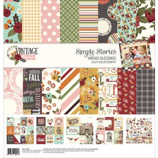 """Simple Stories Collection Kit 12""""X12""""