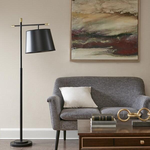 Madison Park Webster Black 64.5-inch Floor lamp