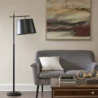 Madison Park Webster Black 64.5-inch Floor lamp