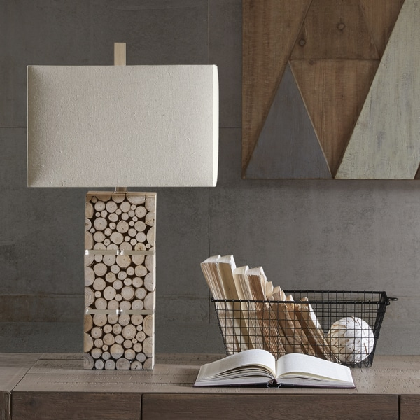 INK+IVY Everett Brown Table Lamp