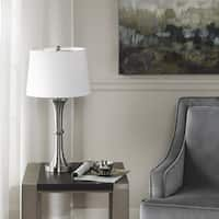 Madison Park Harper Silver 25-inch Table Lamp