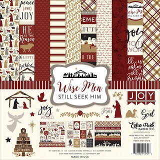 "Echo Park Collection Kit 12""X12"""
