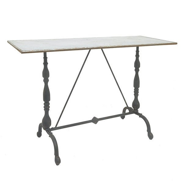 Three Hands Metal Console Table