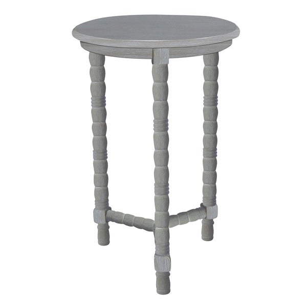 Three Hands Wood Accent Table - Grey