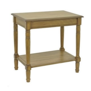 Three Hands Honey Wood Console Table