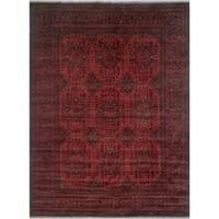 Noori Rug Khal Mohammadi Ragnar Red/Black Rug - 9'10 x 13'3