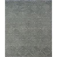 Noori Rug Winchester Kilim Bennett Grey/Blue Rug - 8'7 x 10'3