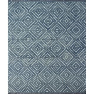 Winchester Kilim Alberteen Grey/Blue Rug (8'8 x 10'2)|https://ak1.ostkcdn.com/images/products/18146106/P24296808.jpg?impolicy=medium