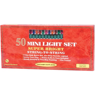 Indoor/Outdoor Lights 50ct