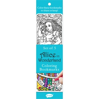 Coloring Bookmarks 5/Pkg