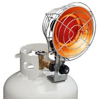 Avenger Infra-Red Tank Top Propane Heater - Single Burner - 15,000 BTU