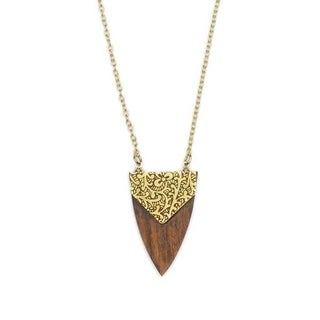Durga Arrowhead Necklace