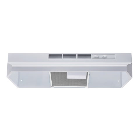 """Winflo O-W201V30W 30"""" Non-Ducted Under Cabinet Range Hood"""