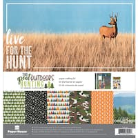 """Paper House Paper Crafting Kit 12""""X12"""""""