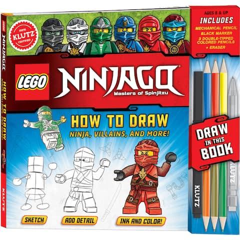 LEGO(R) Ninjago(R) How To Draw Ninja, Villians And More!