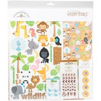 "Doodlebug Essentials Page Kit 12""X12"""