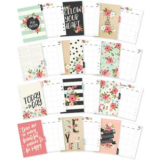 Carpe Diem Bloom Double-Sided A5 Planner Inserts