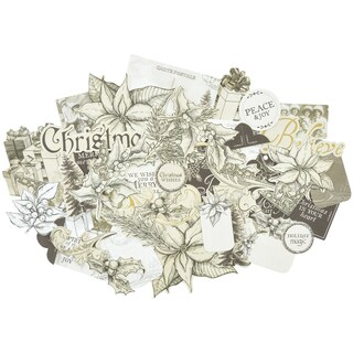 Christmas Edition Collectables Cardstock Die-Cuts