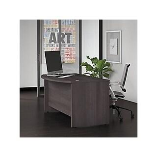 Studio C 60W x 36D Bow Front Desk