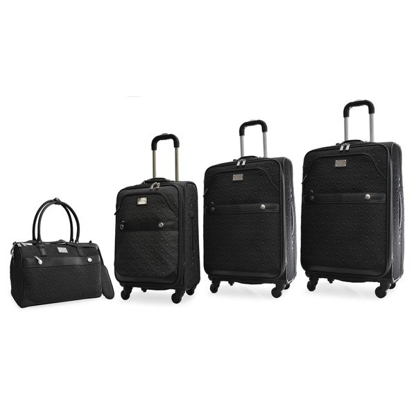 Shop Adrienne Vittadini 4 Piece Quilted Expandable Spinner