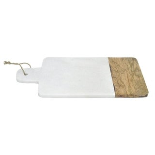 Three Hands Marble Board With Wood