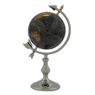Three Hands Globe 6 Inches - Black