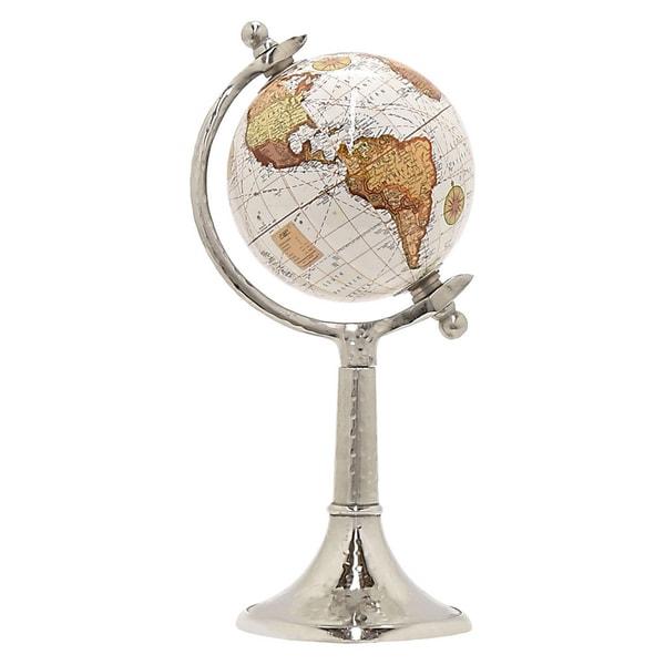 Three Hands Globe 5 Inches - Nickel