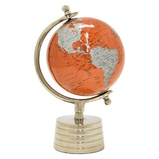 Three Hands Globe 6 Inches - Nickel Base